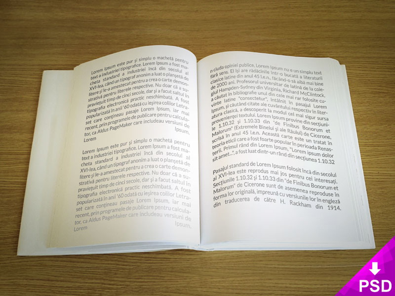 text_book_mockup_design