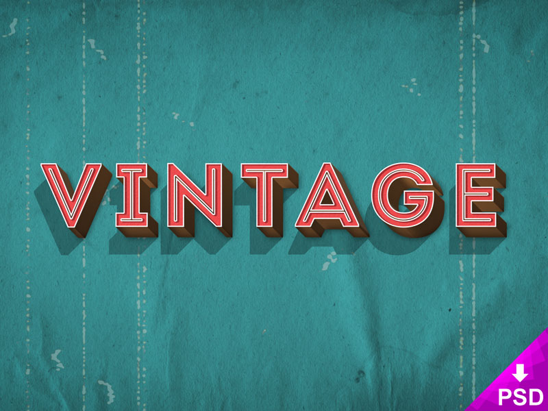Retro Text Style – thislooksgreat
