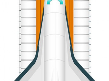 Shuttle Icon Design
