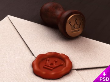 Official Letter and Seal Design