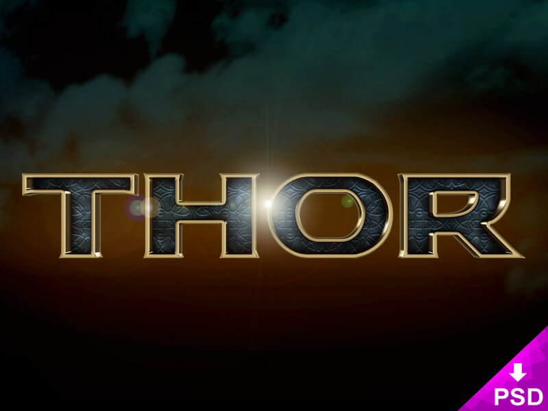 Thor Text Style