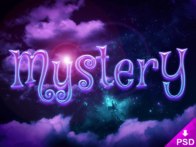 Mystery Text Style