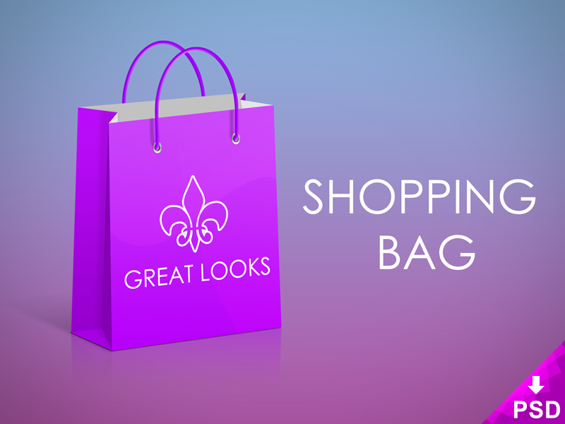 Great Looks Shopping Bag Mockup